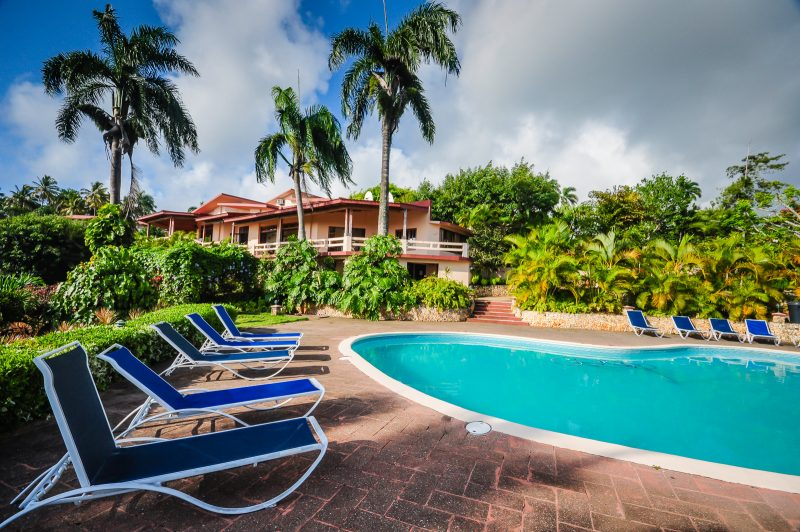 Pool - Hotel La Catalina - Cabrera Dominican Republic