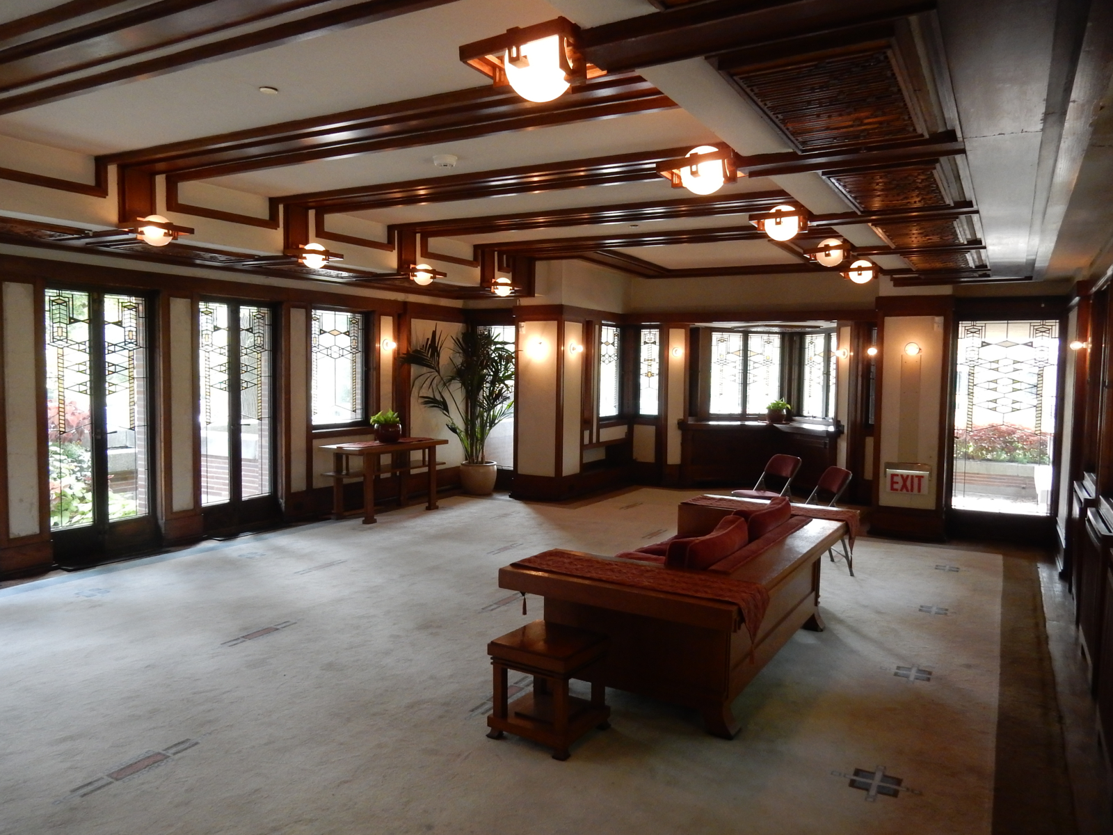 frank lloyd wright home interiors chicago in five days 23770
