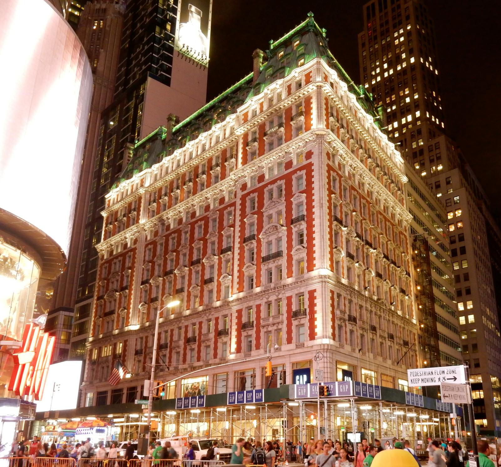 KNICKERBOCKER HOTEL, Manhattan NY.