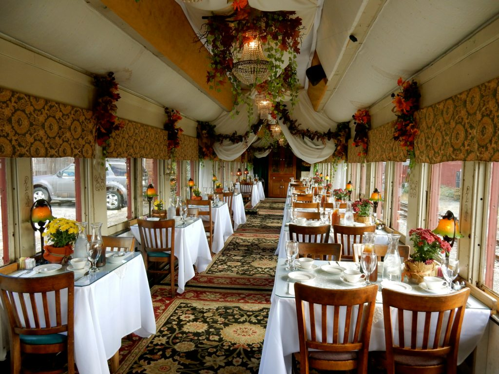 Dining Car Colebrookdale Railroad Boyertown PA