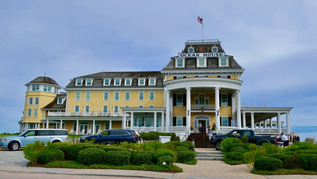 Ocean House Front View Watch Hill RI