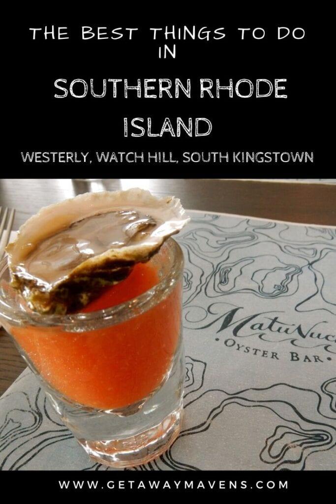 Visit Southern RI Pin