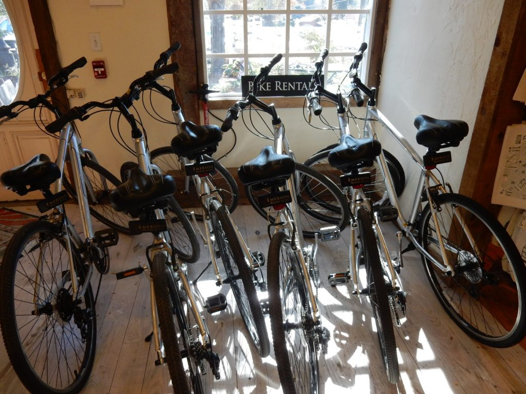 Bike rentals - Emerson Resort - Mt Tremper NY