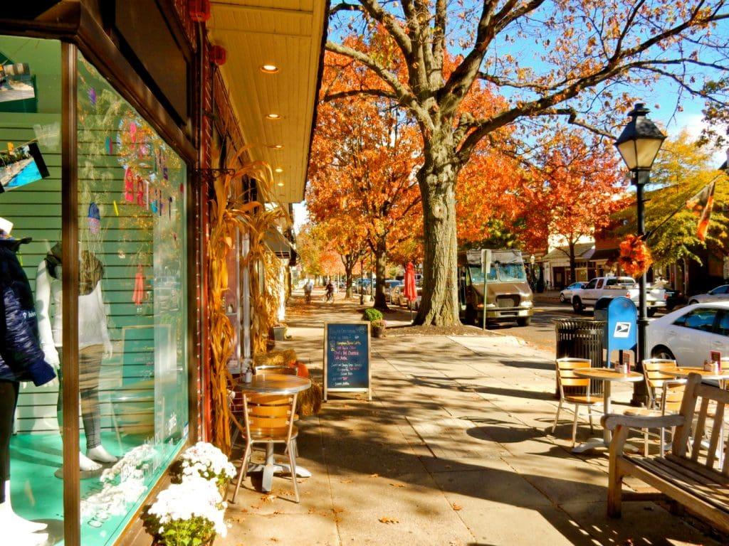 Downtown Haddonfield NJ
