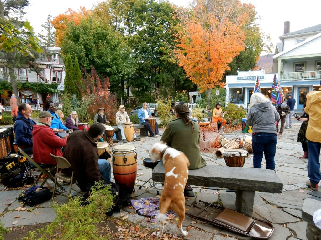 Drum Circle Woodstock NY