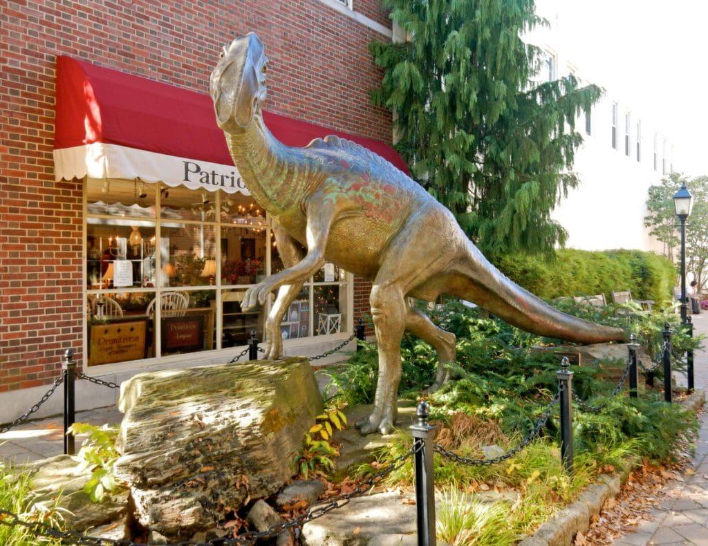 Haddy the dinosaur statue - Haddenfield NJ