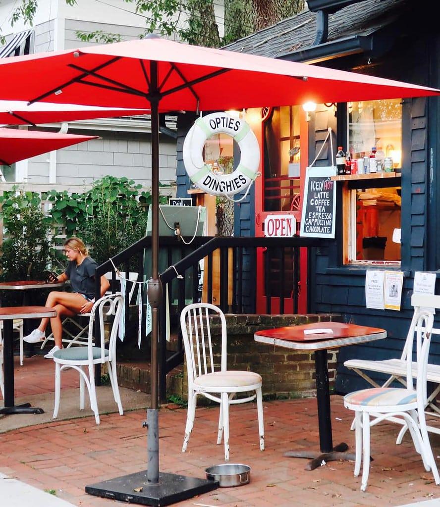 Opties DInghies Dumpling-Crepe cafe Orient NY