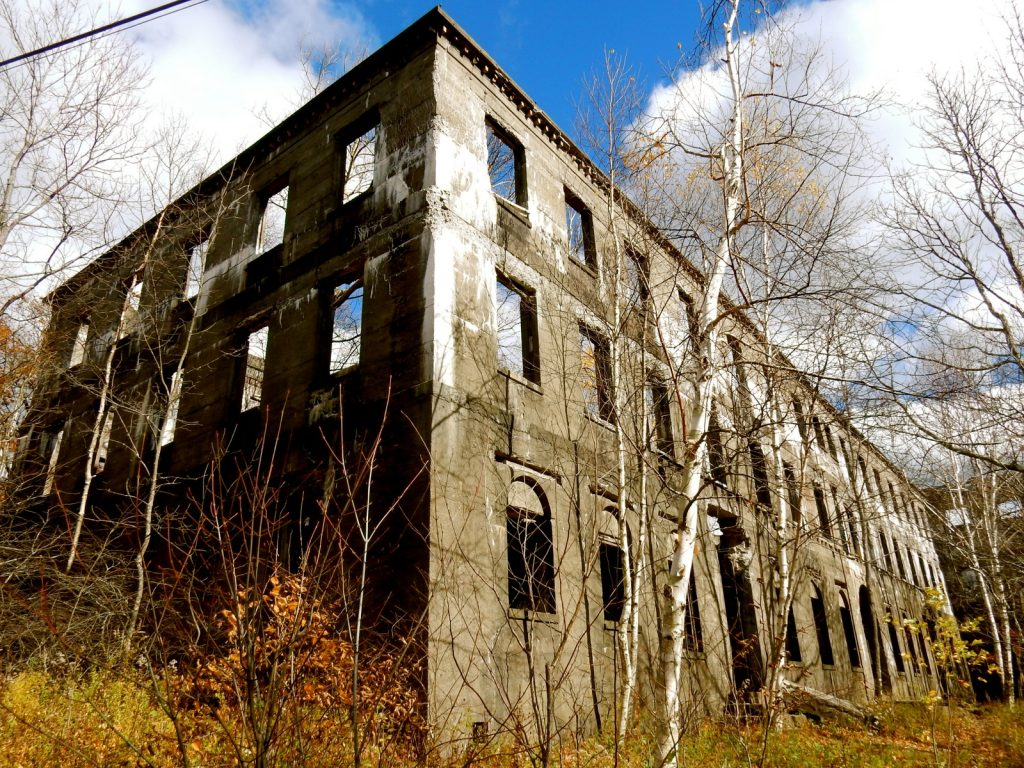 Overlook Mountain Trail Hotel Ruins - Woodstock NY