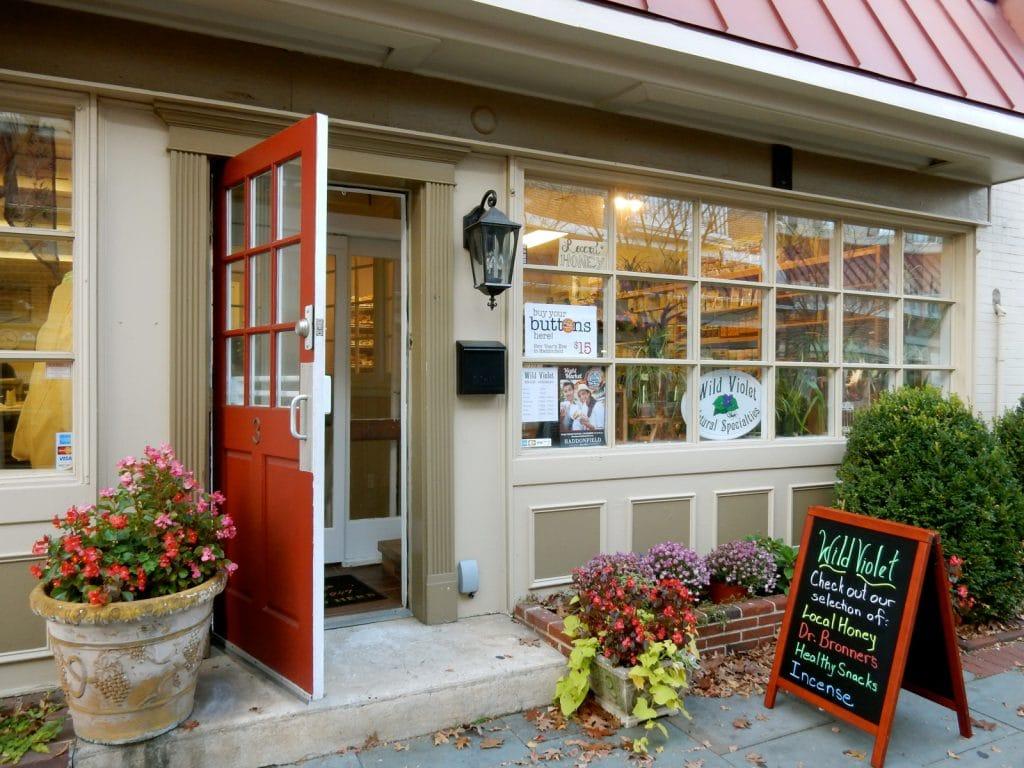 Wild Violet shop - Haddonfield NJ