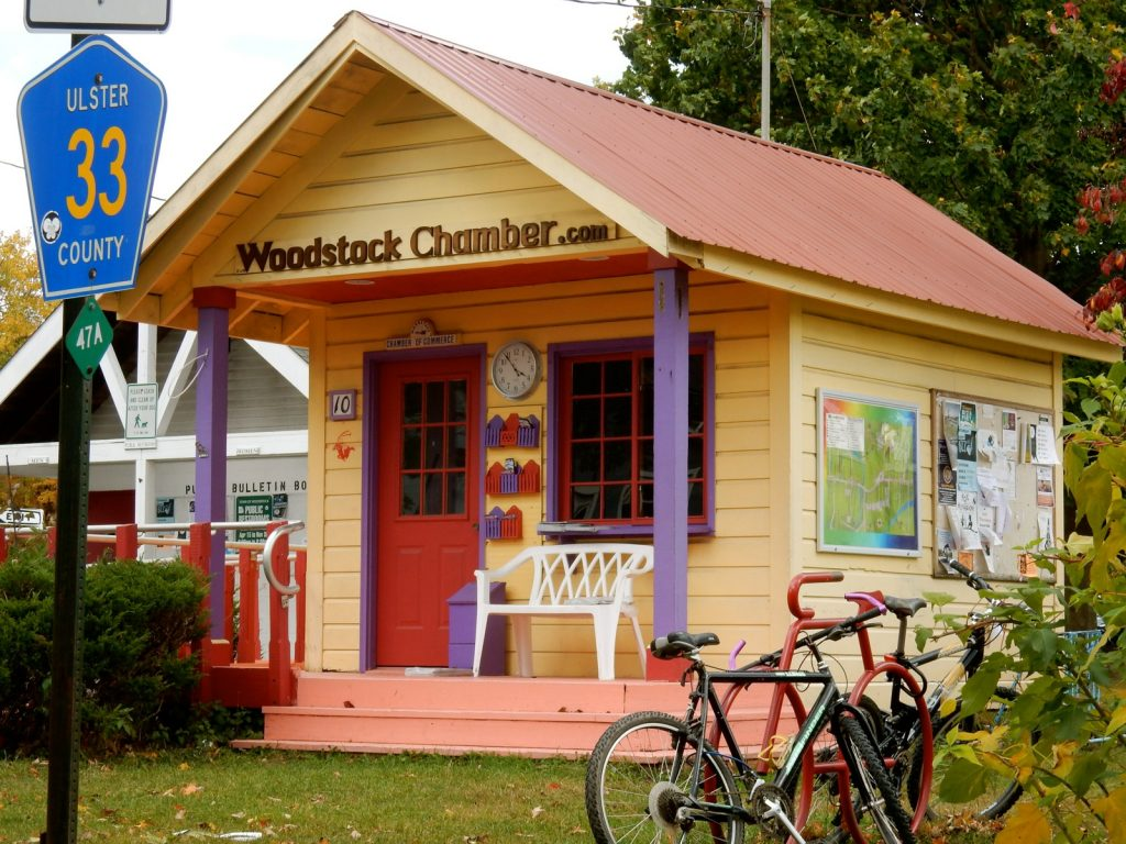 Woodstock NY Chamber of Commerce Building