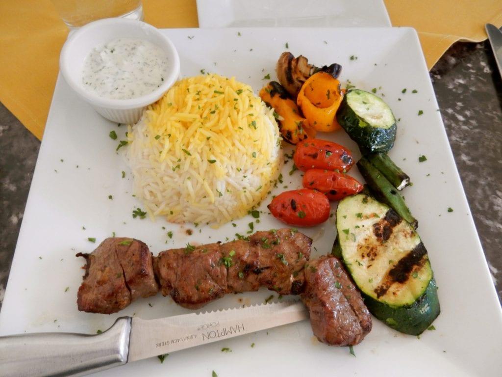 Zaffron Mediterranean plate