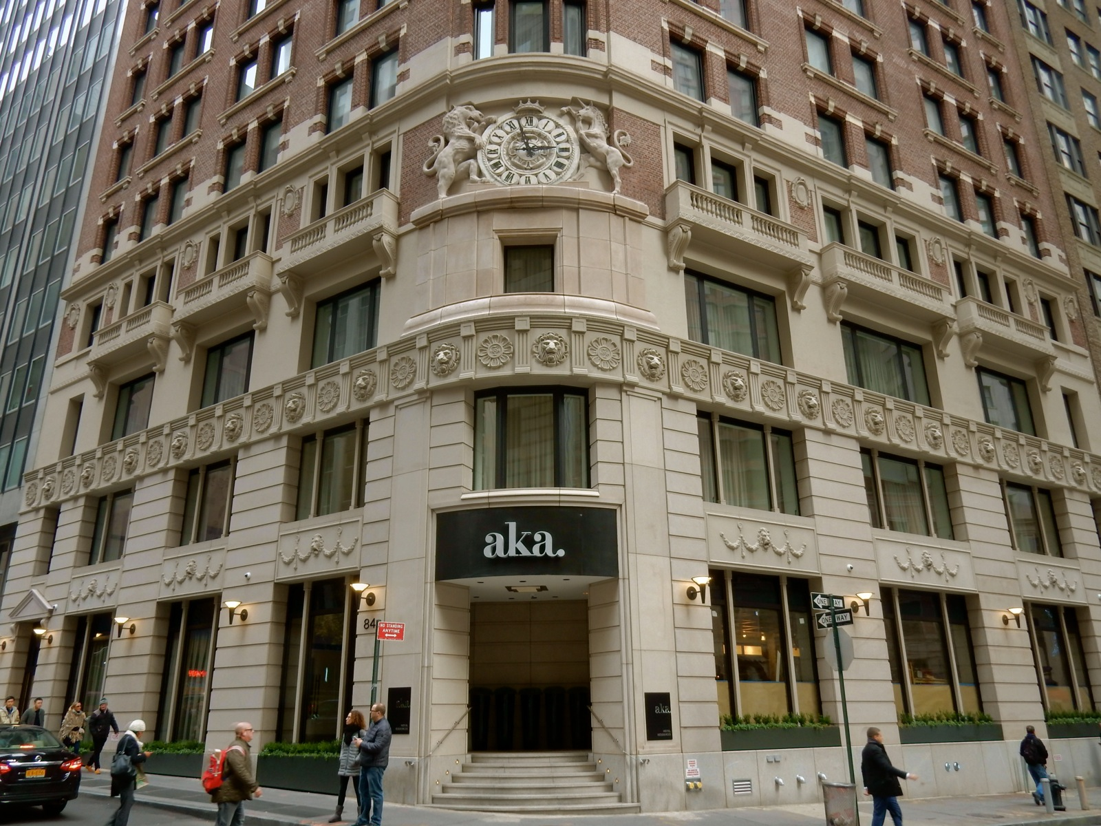 Aka wall street new long term stay hotel in nyc s for Luxury extended stay hotels nyc