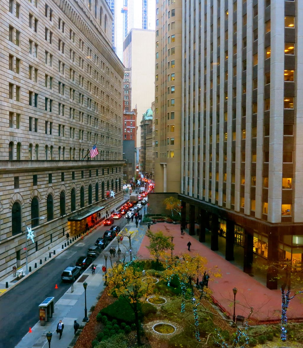 Wall St. NYC Financial District