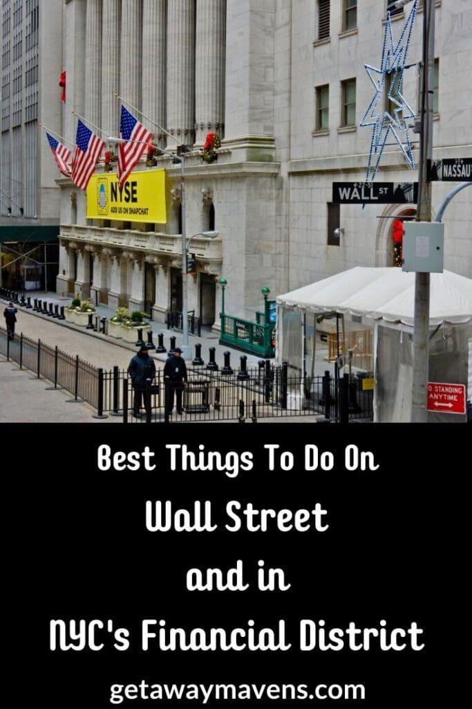 Wall Street NYC Pin