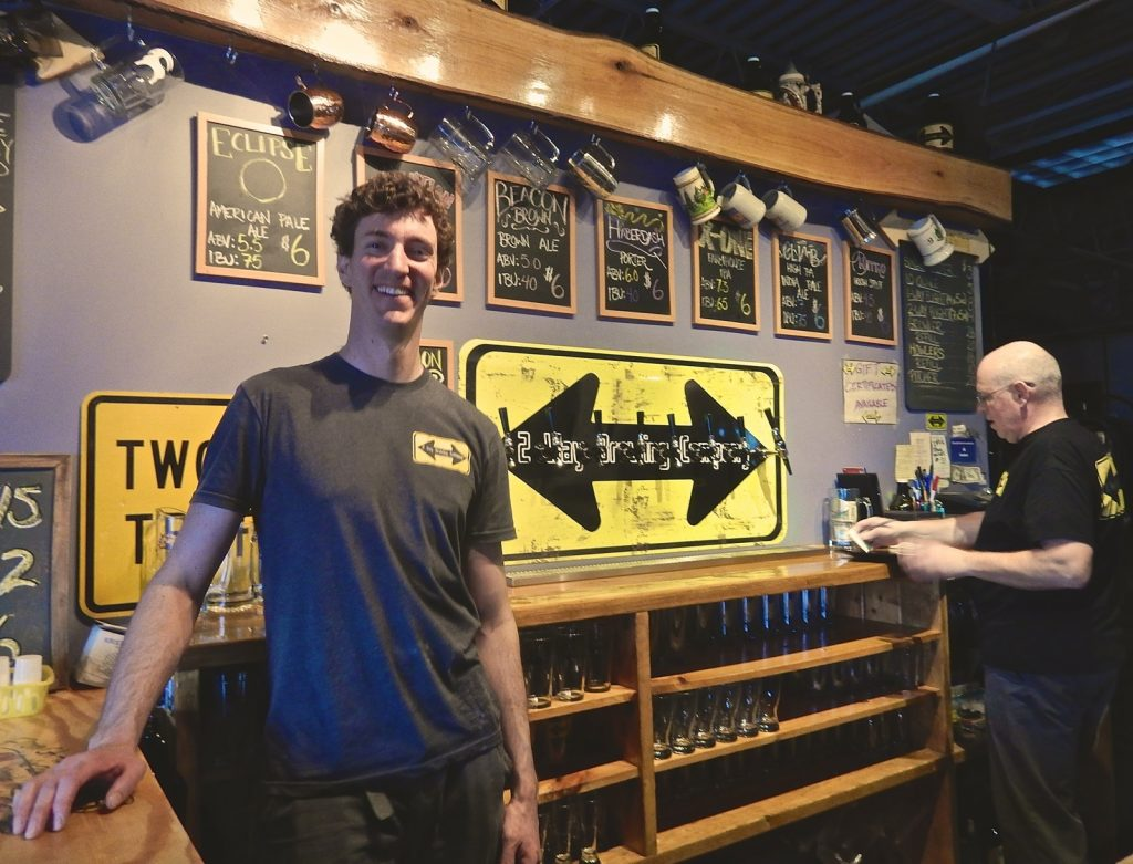 Michael O'Herron, brewer at Two Way Brewery