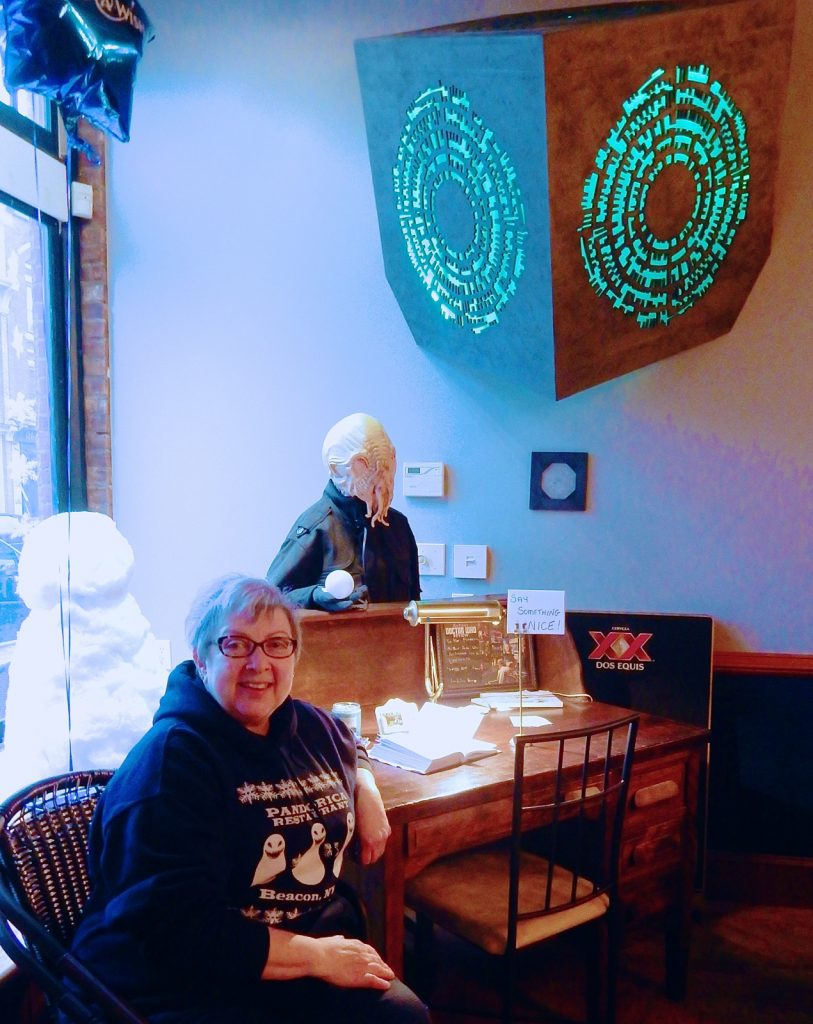 Shirley Hot, owner of Pandorica Restaurant in Beacon NY