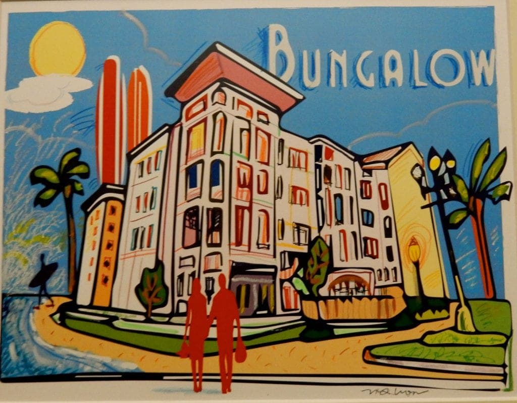 Artistic rendering of Bungalow Hotel, Long Branch NJ