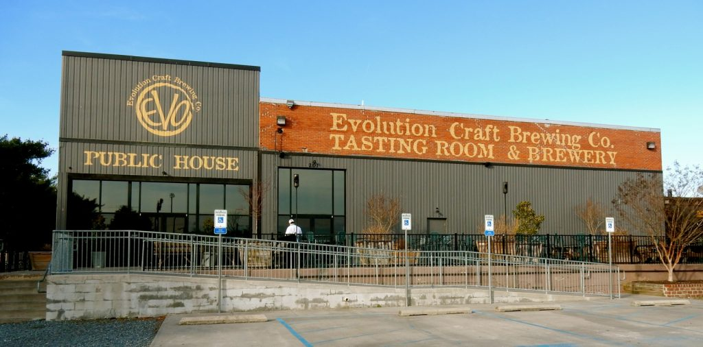 Evolution Craft Brewery, Salisbury MD