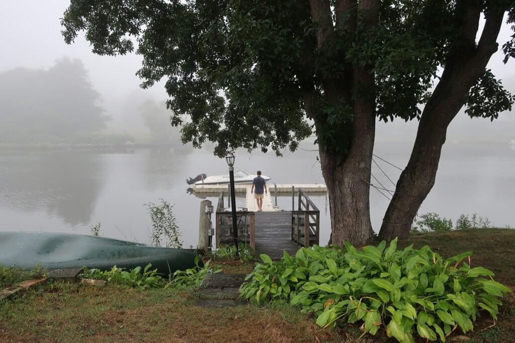 Misty morning Stonington CT