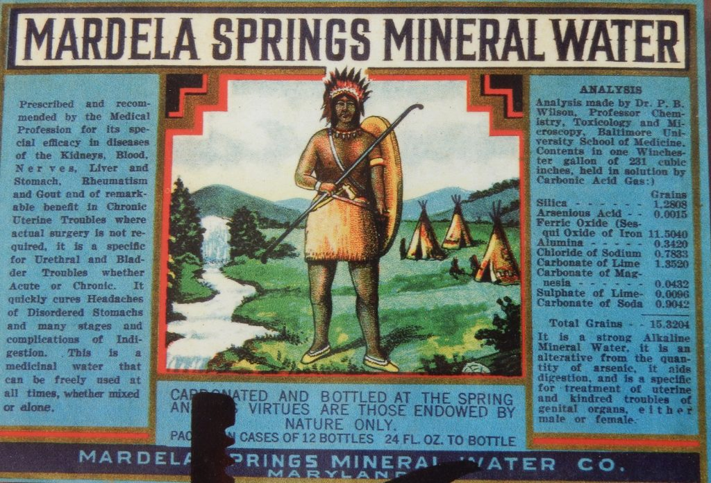 Mardela Springs Mineral Water, MD