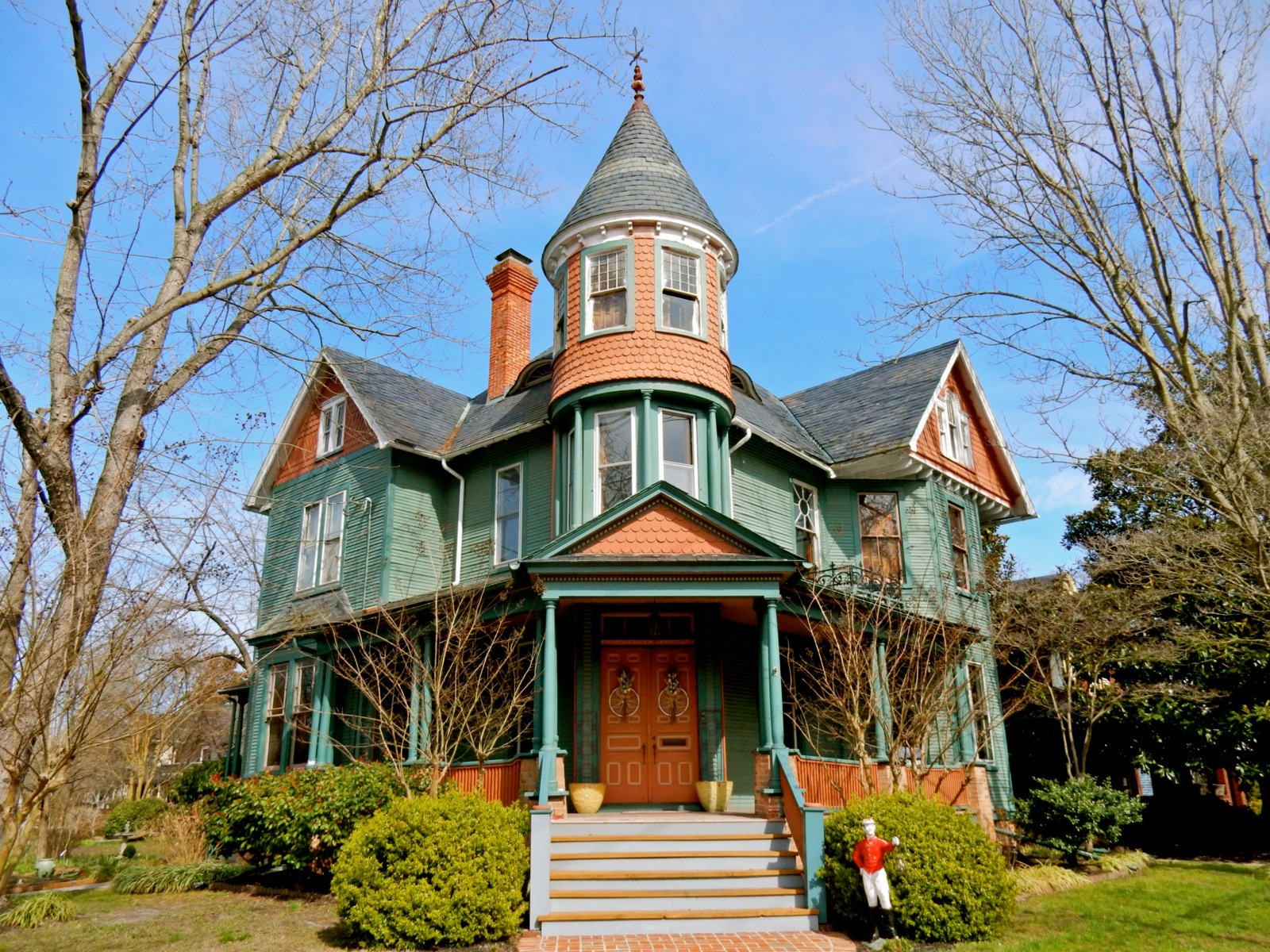 Victorian house in Wicomico County