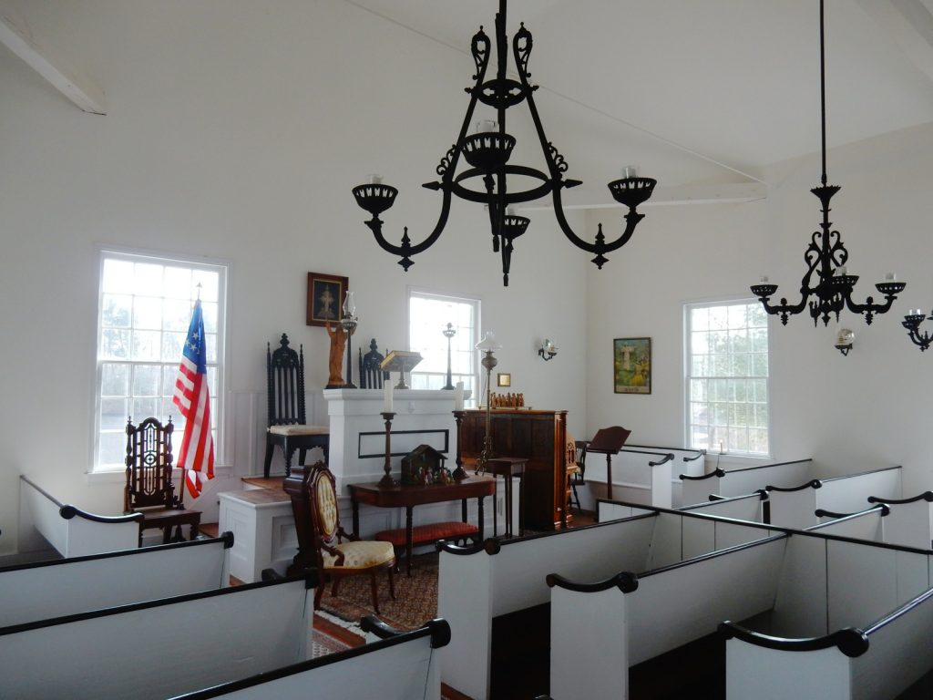 Restored Church, Mardela Springs, MD