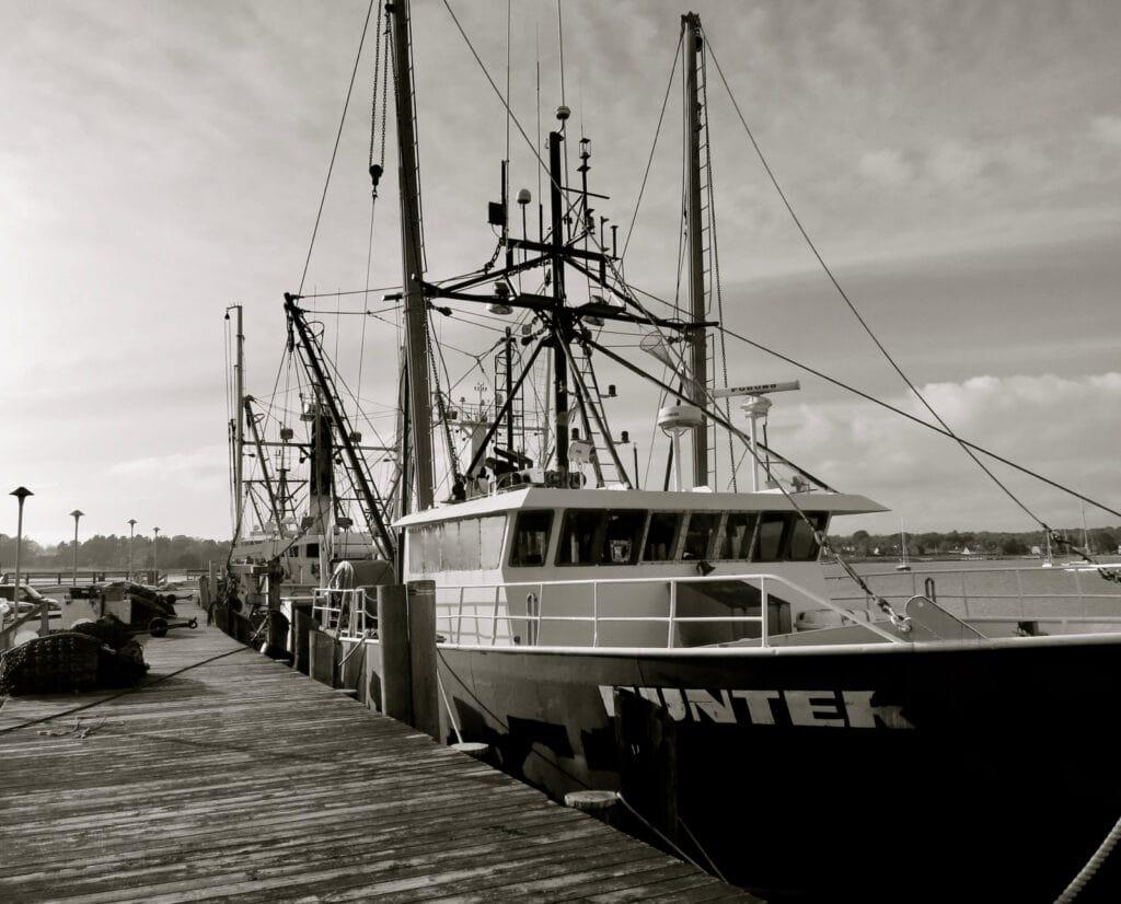 Stonington CT Fishing Fleet