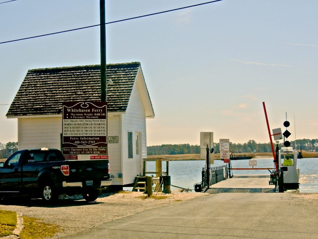 Whitehaven Ferry, Whitehaven MD