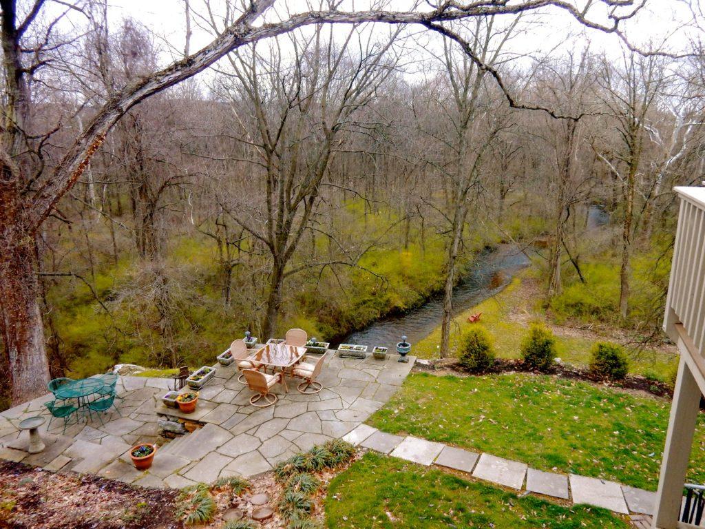Backyard, Inn at Ragged Edge, Chambersburg PA