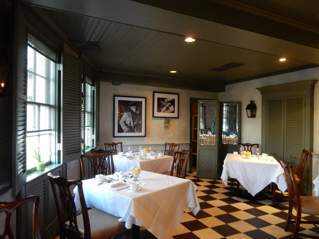 Bernards Inn casual restaurant, Bernardsville NJ