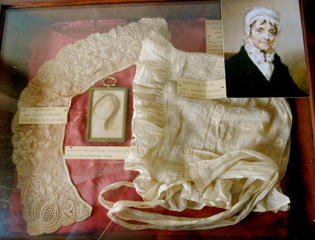 Betty Schuyler artifacts at Schuyler Hamilton House in Morristown NJ.