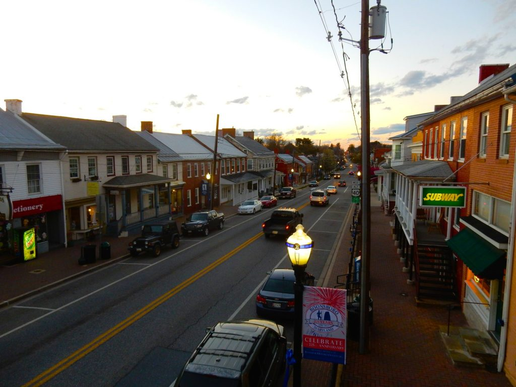 Boonsboro MD Sunset