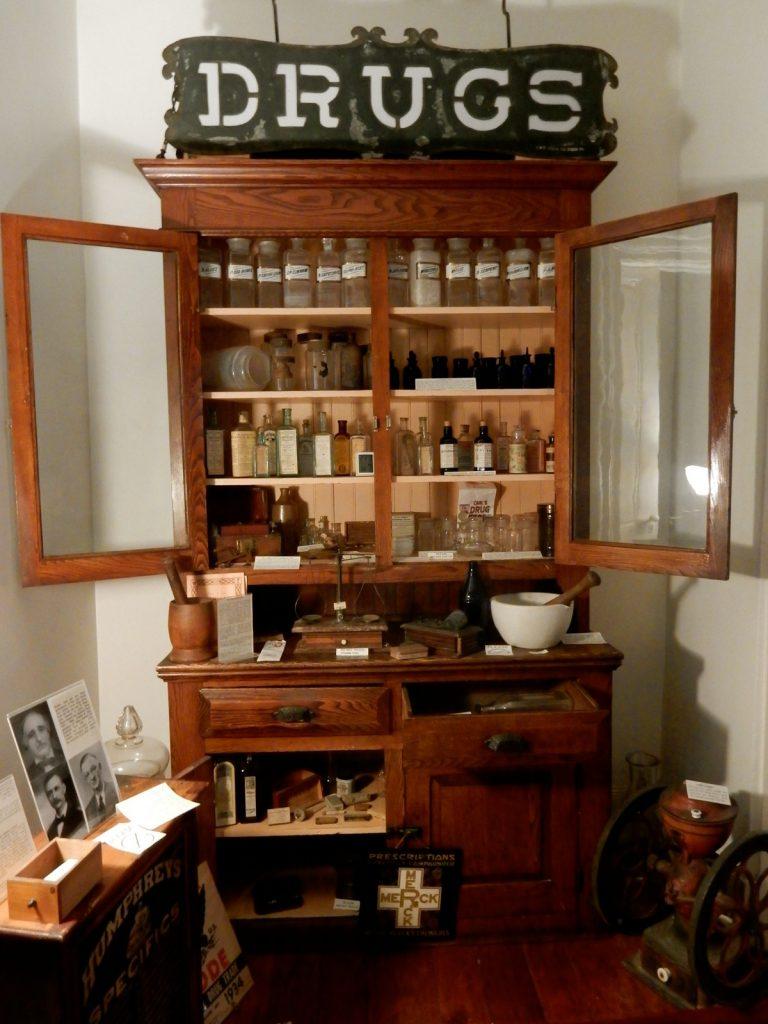 Drug Store Exhibit, Allison-Antrim Museum, Greencastle PA