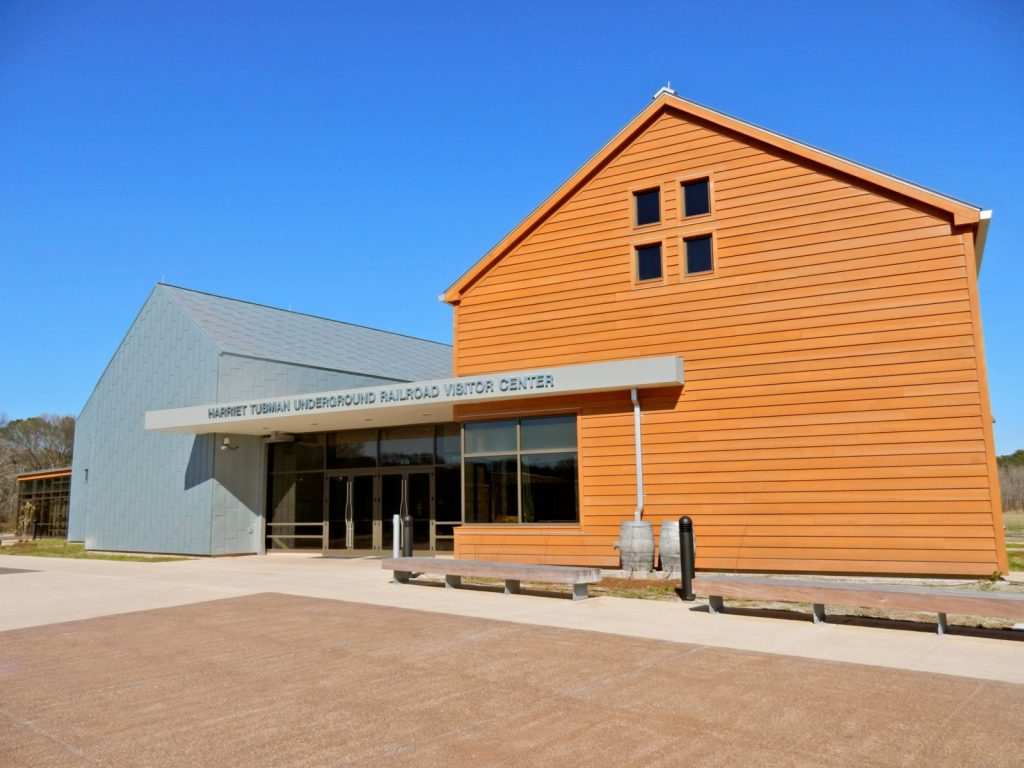 Exterior, Harriet Tubman Visitors Center, Dorchester County MD