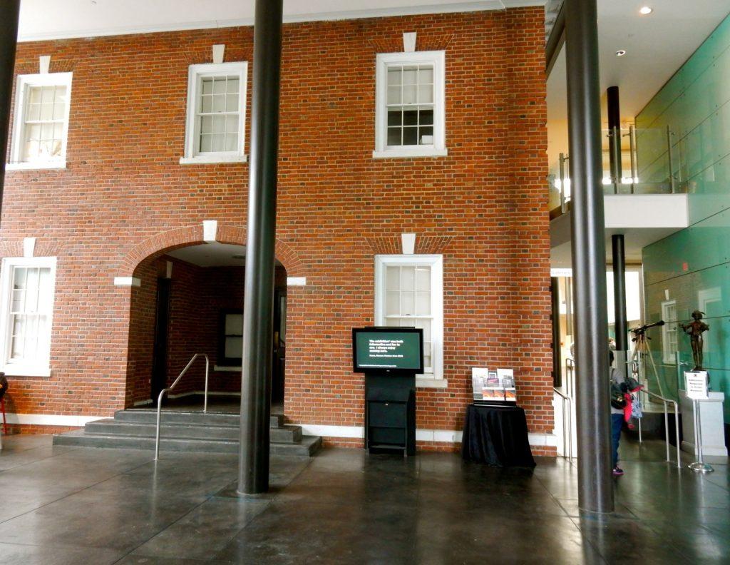 Frelinghuysen Mansion exhibit inside Morris Museum