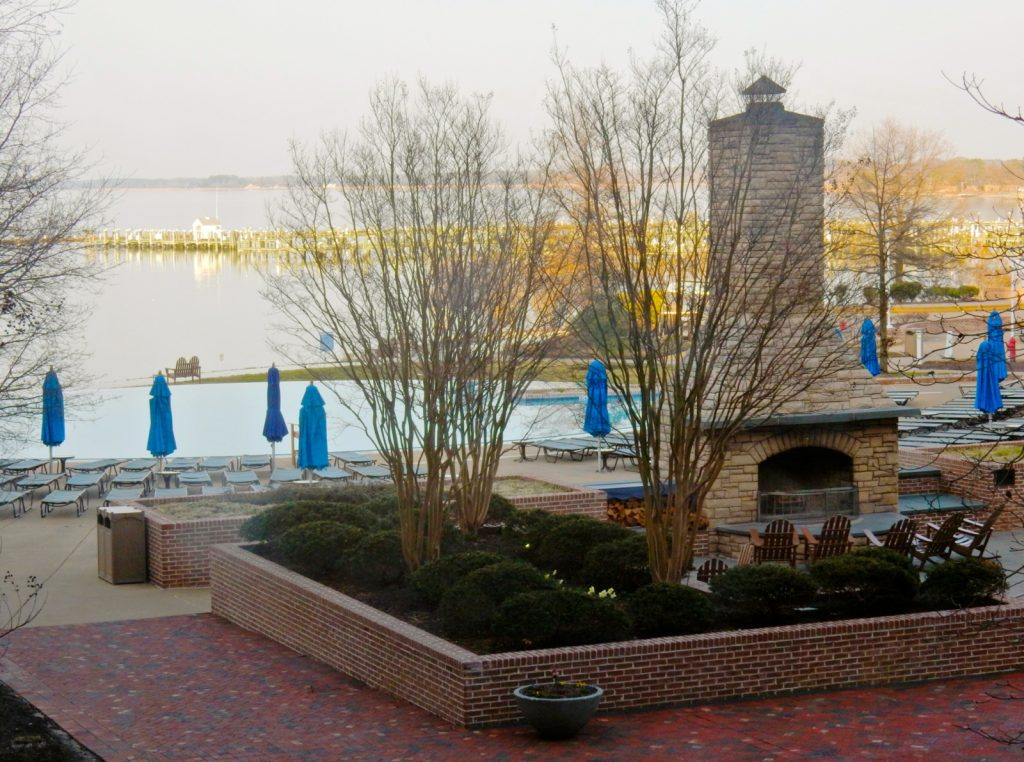 Grand Fireplace, Hyatt Regency Chesapeake MD