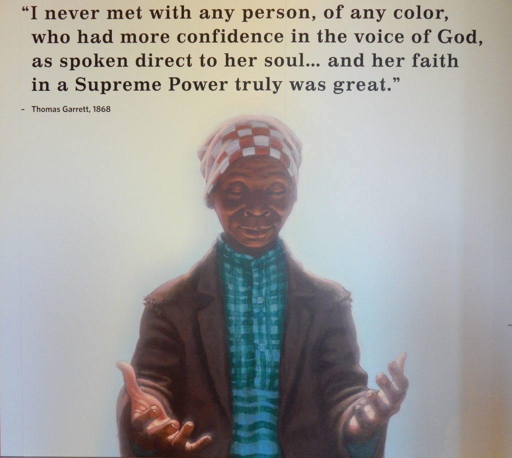 Harriet Tubman Supreme Power Quote