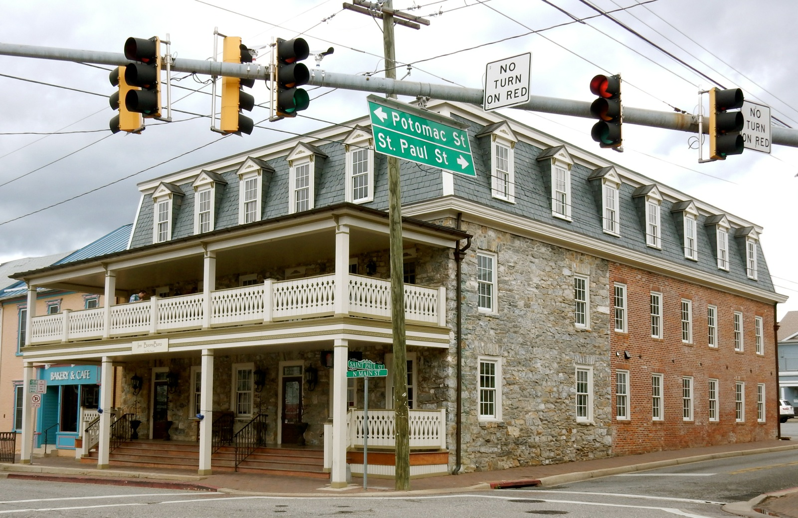Inn Boonsboro, Boonsboro MD: Owned by Nora Roberts -