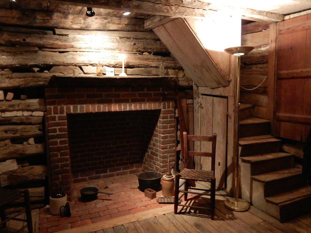 Inside Cabin, Museum of Rural Life, Denton MD