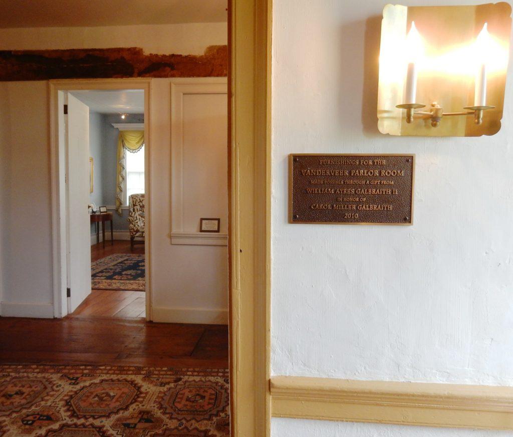 Interior, Jacobus Vanderveer House, Bedminster NJ