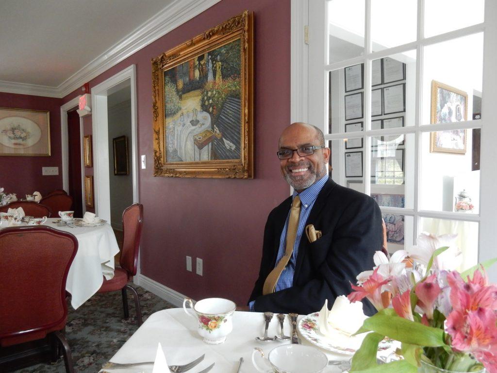 James Howard, Owner Cosy Cupboard Tea Room, Morristown NJ