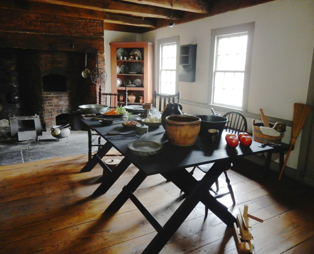 Kitchen at Ford Mansion - Morristown National Historic Park