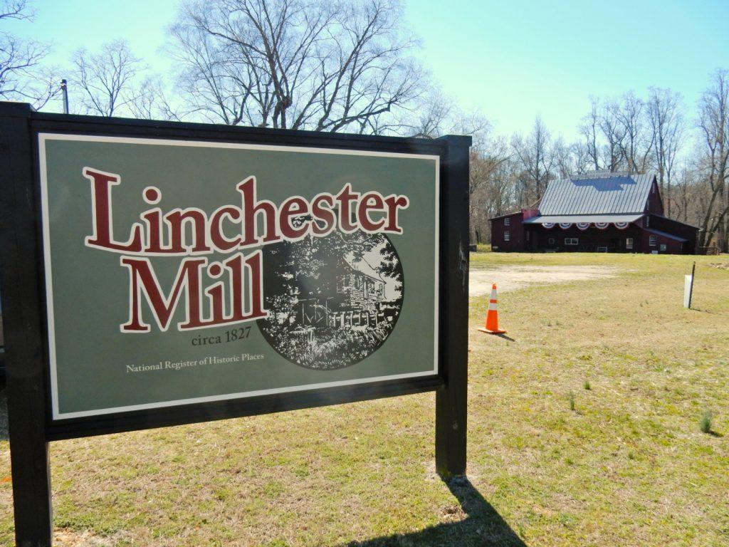 Linchester Mill sign, Preston MD