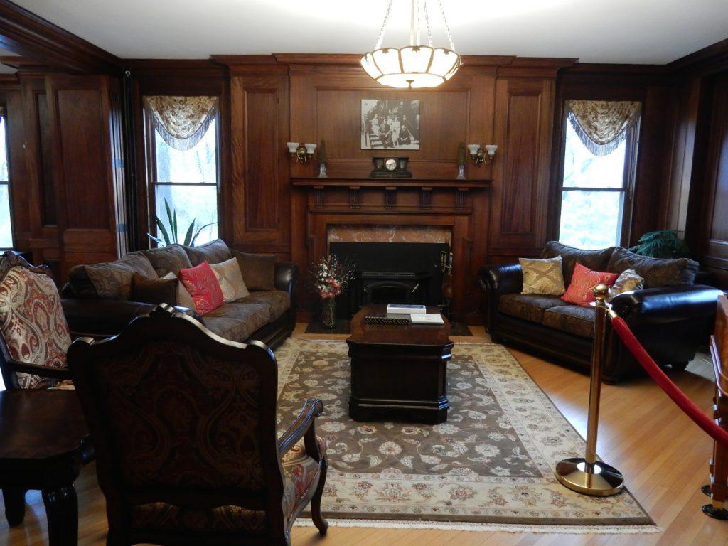 Living room, Inn at Ragged Edge, Chambersburg PA