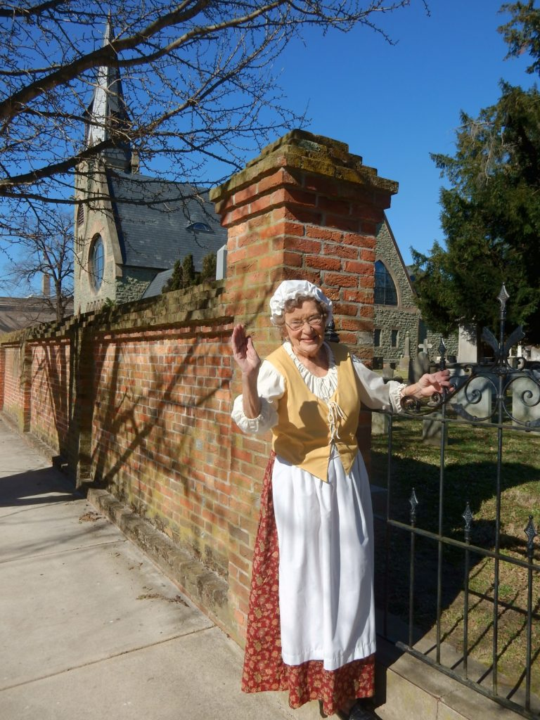 Marge Hull, Guide, High St. Historic Walking Tour, Cambridge MD