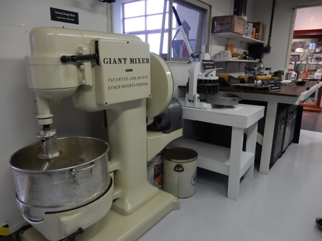 Martin's Potato Rolls Original Garage, Golden Roll Visitor's Center, Chambersburg PA