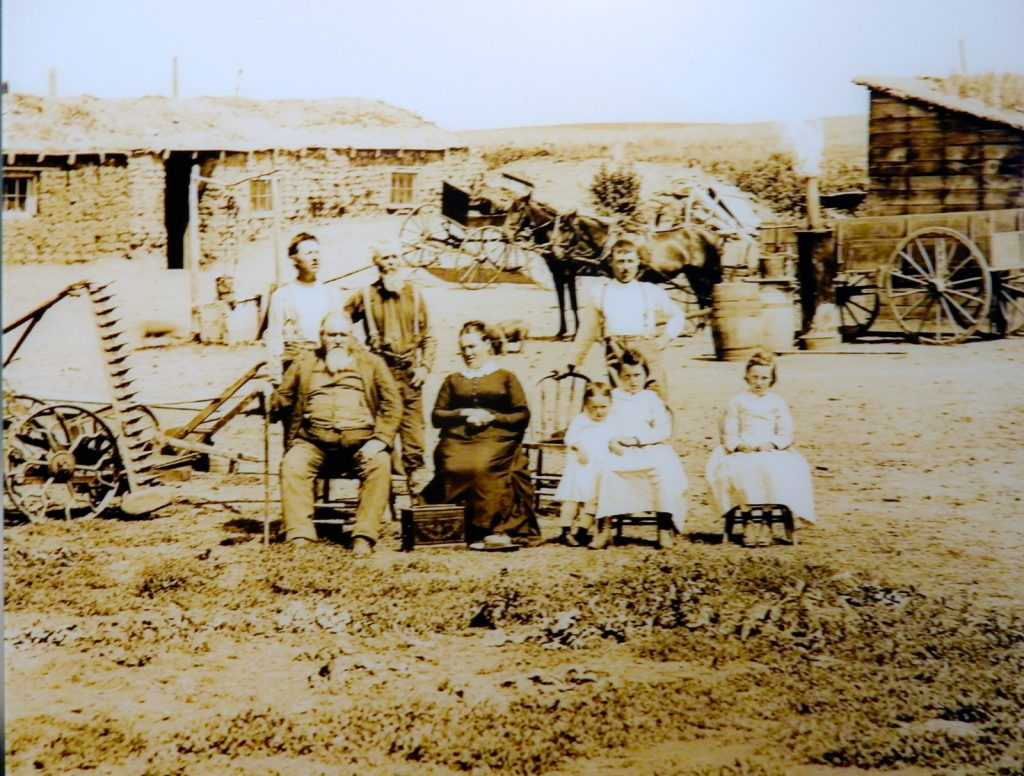 Nebraska Farm Photo in Guinness Collection at Mechanical Musical Instruments exhibit in Morris Museum
