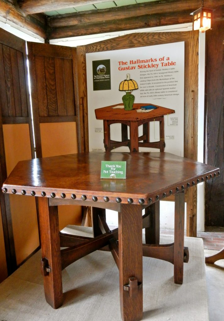 Stickley Table, Stickley Museum at Craftsman Farms, Morris Plains NJ