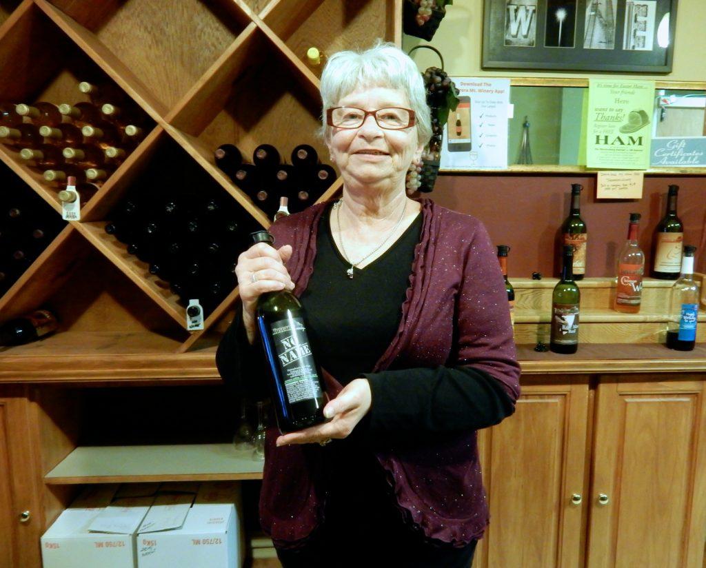 Sue Hadley, Tuscarora Mountain Winery Tasting Room, Chambersburg PA