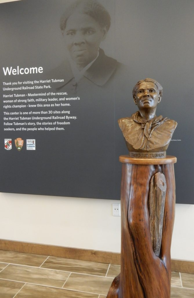 Tubman Bust, Harriot Tubman Visitor Center, Cambridge MD